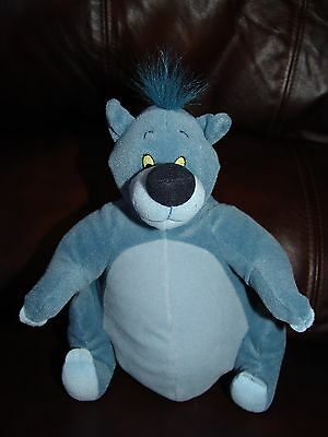 Applause Disney Jungle Book Baloo the Bear Plush Doll 9""