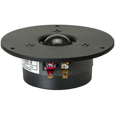 "Dayton Audio DC28F-8 1-1/8"" Silk Dome Tweeter"