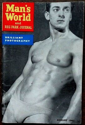Man's World vintage Beefcake Gay interest magazine August 1962