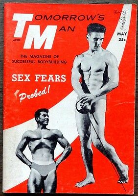 Tomorrow's Man vintage Beefcake Gay interest magazine May 1959