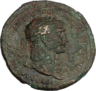 TRAJAN Possibly Unpublished Ancient Rare Roman Coin Roma as Amazon i42220