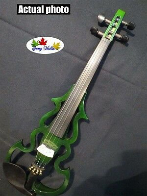 New SONG Brand streamline 4/4 electric violin,solid wood #9189