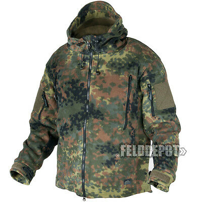 Helikon Tex Patriot Heavy Fleece Jacket BW Flecktarn Bundeswehr Outdoor Jacke