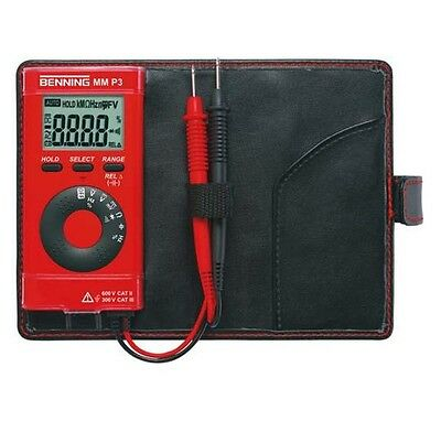 Benning Digital Multimeter MM P3 044084