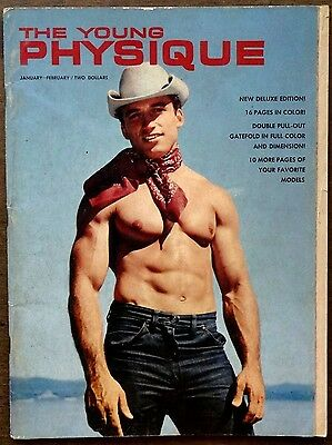 THE YOUNG PHYSIQUE vintage Beefcake Gay interest magazine Jan/Feb 1964