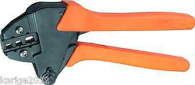 VEHA VH2-30JC Ratchet Crimping Plier For Insulated Terminals 20-10AWG, 0.5-6mm²