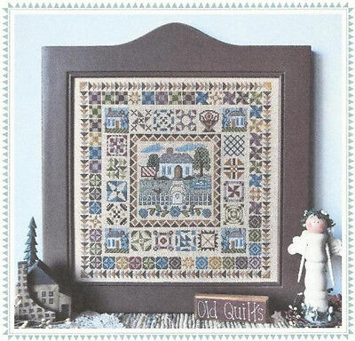 Cabin in Gloryland - Counted Cross Stitch Pattern - Linda Myers Designs