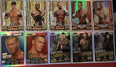 WWE Slam Attax Pick Your Champion Card - Buy 4 Get 1 Free (Cheapest)