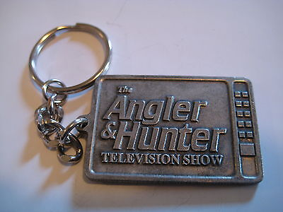 The Angler and Hunter Television Show TV Keyring Keychain  Key Ring Key Chain