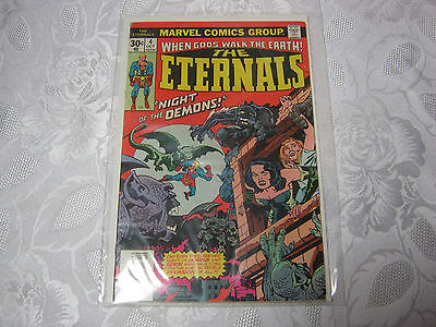The Eternals No. 4  Oct  Vintage Marvel  Comic   T*