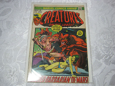 Creatures On The Loose No.19  Sept  Vintage Marvel Comic   T*