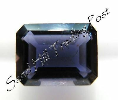 Natural 6x4 Loose Emerald Cut .54ct Iolite AAA Quality