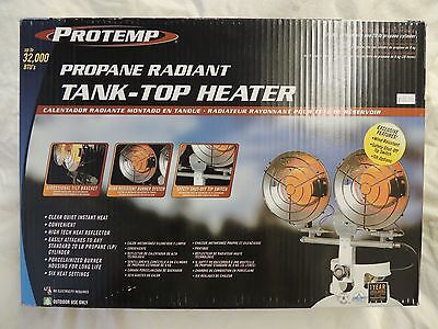 Propane Radiant Tank- top- Heater