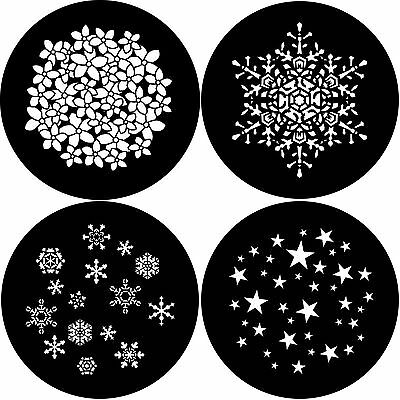 Stock Gobo Size E 37.5mm Wedding Party Halloween Snowflakes Christmas New Year