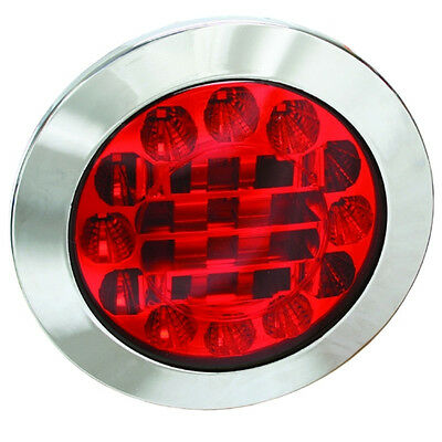 Monark Led 12 V & 24 V  Tail - Stop Lamp  For Truck Trailer Bus Van Caravan