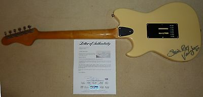 PSA/DNA STEVIE RAY VAUGHAN AUTOGRAPHED SINGLE SIGNED G&L SC-3 GUITAR T05837