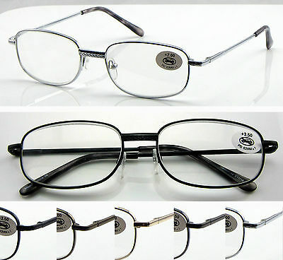 L44 (3 Pairs Reading Glasses Only £8.89) Spring Hinges & Classic Style Design