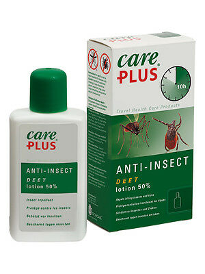 Care Plus Anti Insect 50% Deet Lotion 50Ml Insect Repellant, Ticks Mosquito Bite