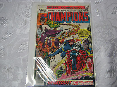 The Champions No.14  July  Vintage Marvel  Comic   T*
