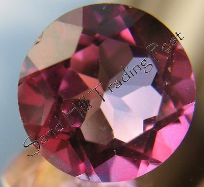 Natural 6mm Round Cut 1.06ct Quality Pink Topaz AAA