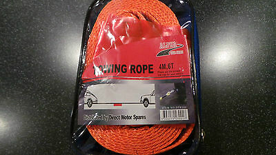 TOW ROPE NOT 3 TON NOT 4 TON YES SUPER HEAVY 6 T0N TOW ROPE WEBBING STRAP 6 TON.