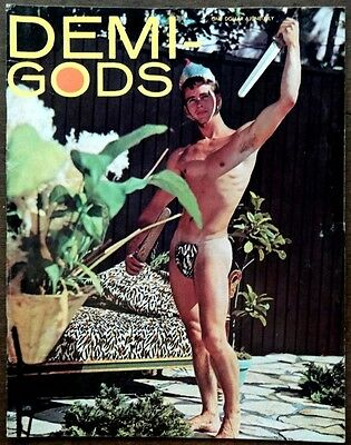 DEMI GODS vintage Beefcake Gay interest magazine Vol 1 #3