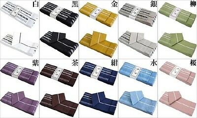 New Japanese Men's Traditional KAKU OBI Kimono Belt 100% Cotton Japan