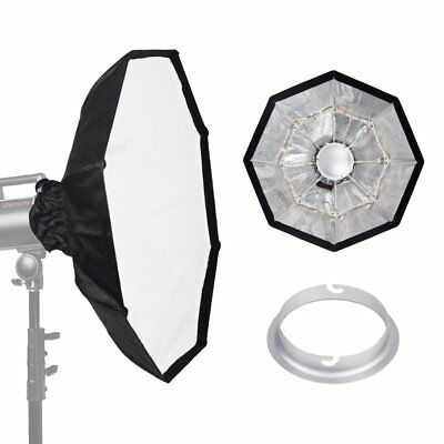70cm SILVER Portable Collapsible Beauty Dish fr Elinchrom Studio Strobe Flash