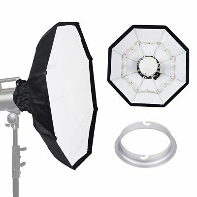 70cm WHITE Portable Collapsible Beauty Dish fr Elinchrom Studio Strobe Flash