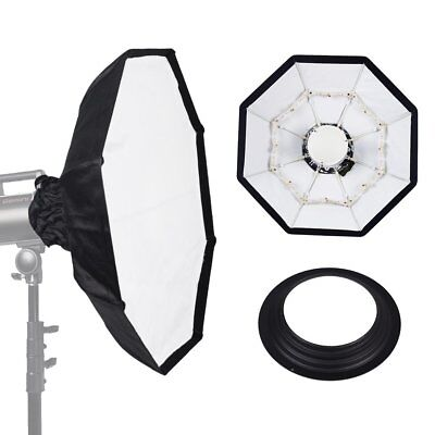 70cm WHITE Portable Collapsible Beauty Dish fr Hensel / Richter Strobe Flash