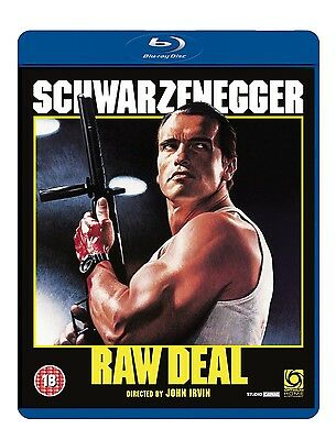RAW DEAL [Blu-ray Disc] (1986) Arnold Schwarzenegger Cult Classic Movie