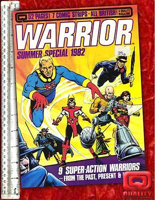 Warrior Magazine #4 - never reprinted Marvelman story!