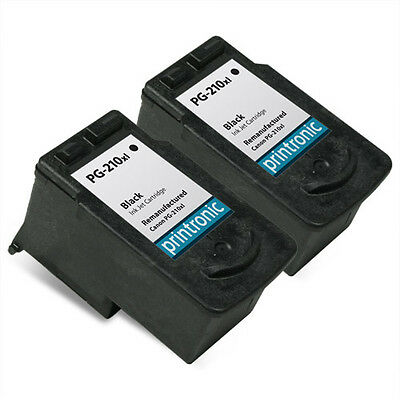 Ink Cartridge Canon PIXMA MP250 MP495 iP2702 MX410 MX340 Printer PG-210XL 2 Pack