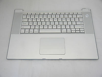"""Top Case Palm Rest US Keyboard with Trackpad Touchpad MacBook Pro 15"""" A1260 2008"""