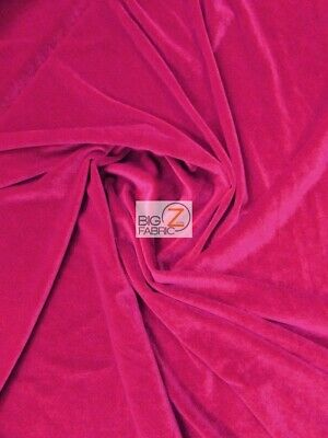 STRETCH VELVET VELOUR SPANDEX 360 GRAMS COSTUME FABRIC Yellow BY YARD CRAFTS