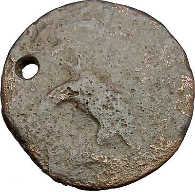 AKRAGAS in SICILY 420BC Hemilitron Eagle Hare Crab Crayfish Greek Coin i38695