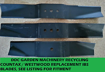 countax westwood IBS DECK replacement blades 1 set see listing for fitment