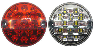 Land Rover Defender Led Rear Fog & Reverse Lamps Lights Upgrade Kit Rdx Wipac