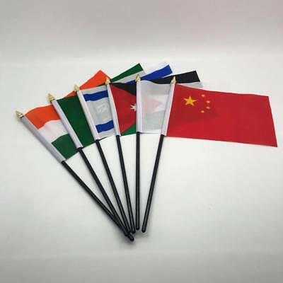 Table Desk Top Flag Flags ASIA ASIAN ALL COUNTRIES oriental Without Base charity