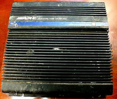 Alpine 4/3/2 Channel Power Amplifier 3553 Amp