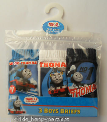 Boys THOMAS THE TANK & FRIENDS Briefs Pants Underwear 18m 2 3 4 5 Years Cotton