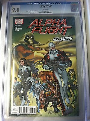 Alpha Flight (2011) 5 CGC 9.8 - X-Men