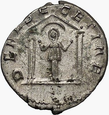 SALONINA Valerian I daughter in law  Silver Ancient  Roman Coin Ceres i42960