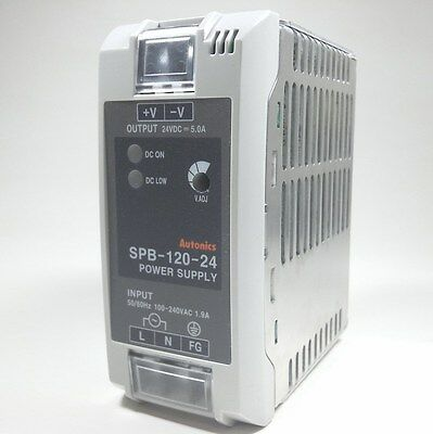 Switching Mode Power Supply Autonics SPB-120-24 24V 120W 5A DIN Rail Mounting