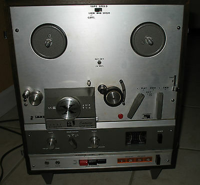 VINTAGE AKAI X-1800SD REEL TO REEL RECORDER AND 8 TRACK PLAYER