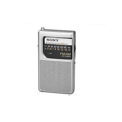 Sony  ICF-S10MK2 Compact Design 2 Band Transistor Radio FM/AM 2-Band /GENUINE