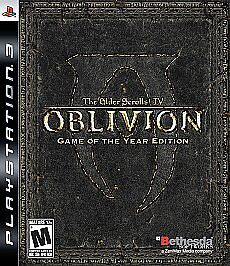NEW! The Elder Scrolls IV: Oblivion - Game of the Year Edition (PlayStation 3)