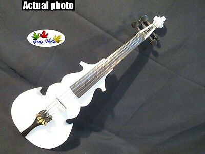 New SONG streamline 4/4 5strings  electric violin,Plywood back and top #7511