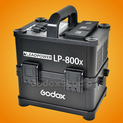 Godox LP-800X Portable Outdoor LiFePO4 Li-ion Battery AC Power Inverter UK