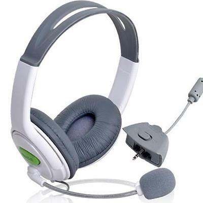 Double Headset Headphone & Microphone for Microsoft XBOX 360 Live